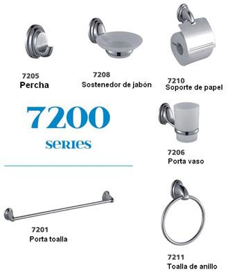 Fontana set accesorios for Catalogo accesorios para bano